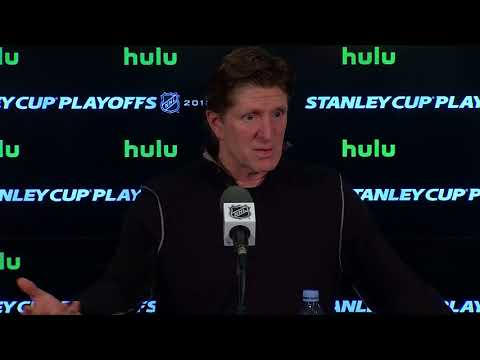 Maple Leafs Practice: Mike Babcock - April 22, 2018