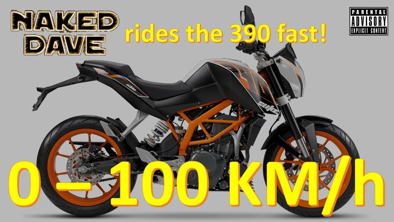 2016 ktm duke 390 0 to 100 kmph (0 to 60 mph) speed run - youtube