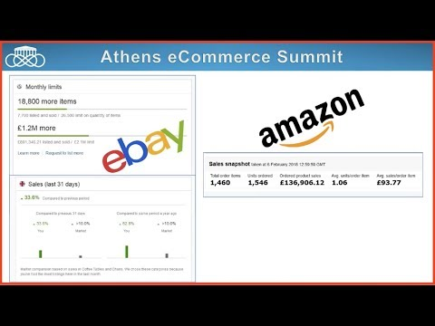 Athens eCommerce Summit Live TV: Interview με τον Έλληνα eBay Powerseller Vasilis Chatzisavvas