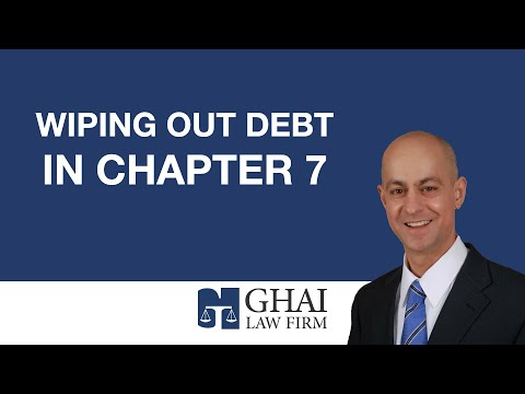 Wiping Out Debt in Chapter 7