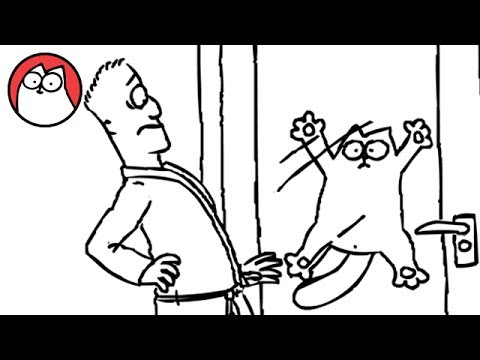 Let Me In! - Simon's Cat [sent 748 times]
