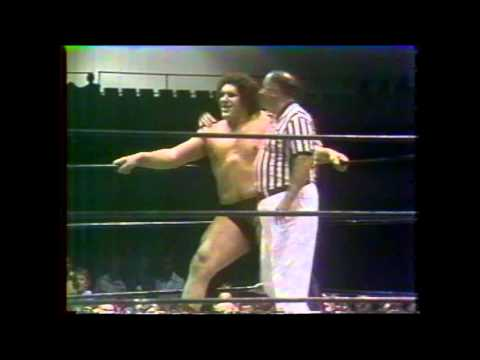 Baron Karl Von Cross and Ox Baker vs Andre The Giant and Dick The Bruiser   WWA   All Star Champions