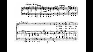 Gedenk an uns mit deiner Liebe (BWV 29 - J.S. Bach) Score Animation