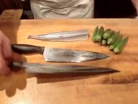 《細魚(さより)とオクラの酢の物》・・・・大和の 和の料理