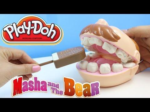Play Doh Dişçi Dondurma Yiyor Oyuncak Dişçi Seti Sürpriz Yumurtalar