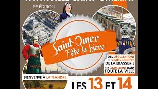 Fête de la bière Saint-Omer - 1ère EDITION