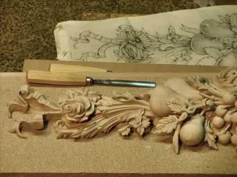talla en madera ornamental manuel gracia zaragozampg