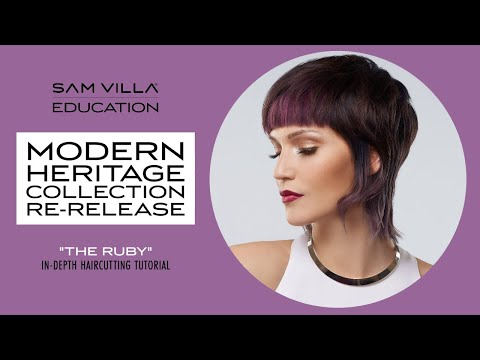 """modern-heritage-collection-re-release---""""the-ruby""""-in-depth-haircutting-tutorial"""
