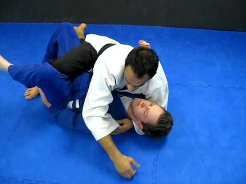 3 half guard top submission attacks