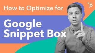 How to Optimize for Google's Featured Snippet Box