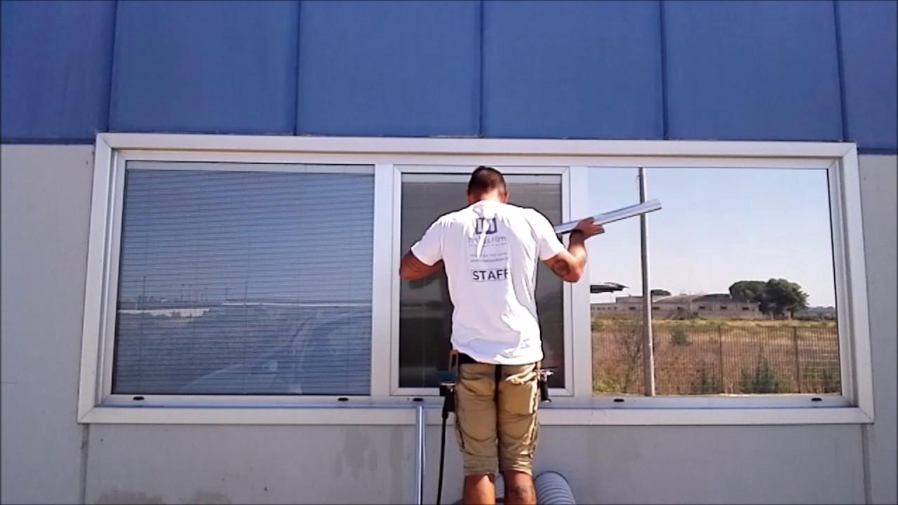 Pellicole per vetri riflettenti michael window film for Pellicola adesiva per vetri ikea