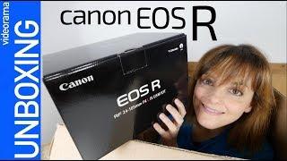 Canon EOS R unboxing -¿el rival más PODEROSO?-