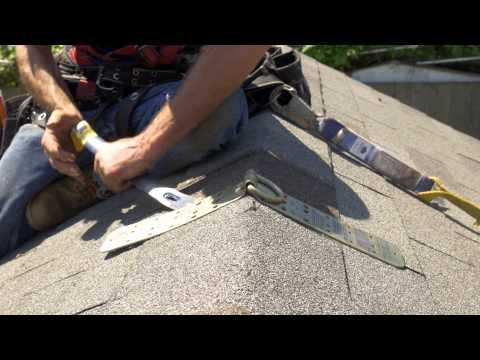 How To: Install A Temporary Roof Anchor