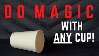 Do INCREDIBLE Magic wİth Any Coffee Cup (Learn the Magic Secret Now!)