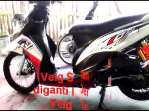 Motor Modifikasi Terkini Modifikasi Motor Mio Velg 14