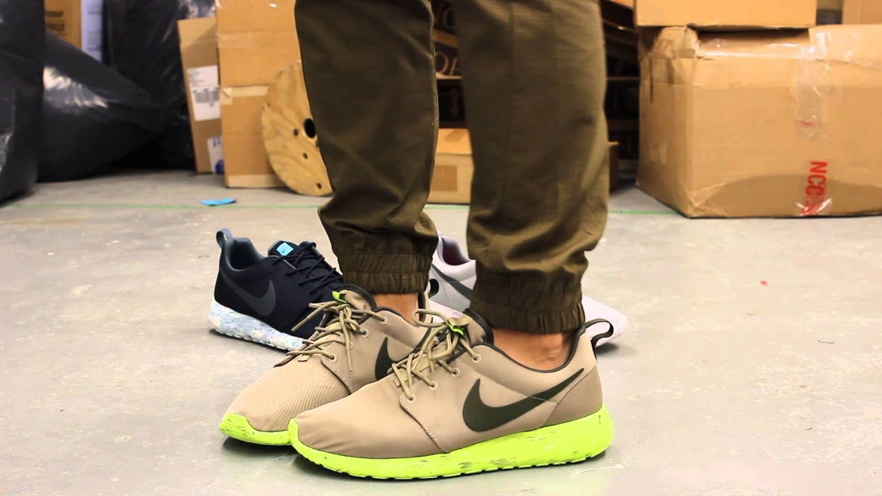 Nike Roshe Run Marble Bamboo