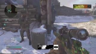 Trickshoting in call of duty WW2