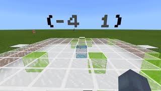 Coordinates Game in MakeCode for Minecraft