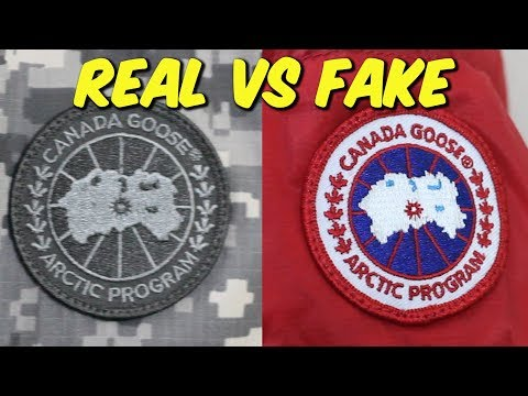 HOW TO: Tell The Difference Between A REAL/FAKE Canada Goose Jacket