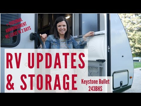 RV Storage & Organization and Upgrades to our Keystone Bullet 234BHS | PLUS Where we're headed next!