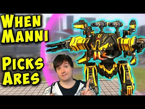 When MANNI Plays ARES Mk2 Maxed - War Robots Gameplay WR