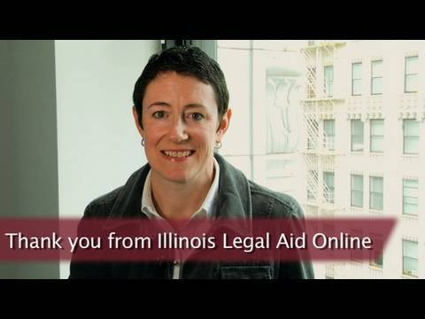 Thank you from Illinois Legal Aid Online