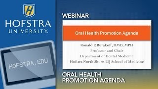 Oral Health Promotion Agenda