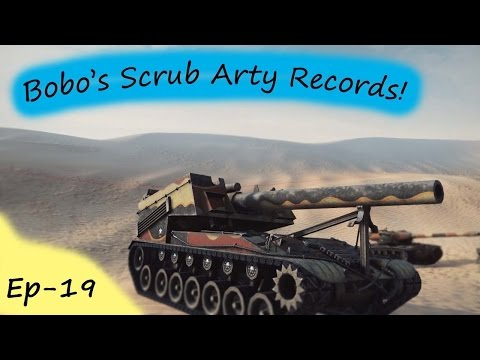 World of Tanks. Bobo's Scrub Artillery records Ep19 - Random Tonk again Bobo?