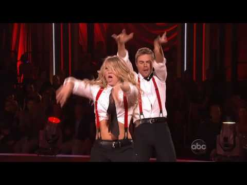 Julianne Hough & Derek Hough  Shake Your Tail feather 2011 HD