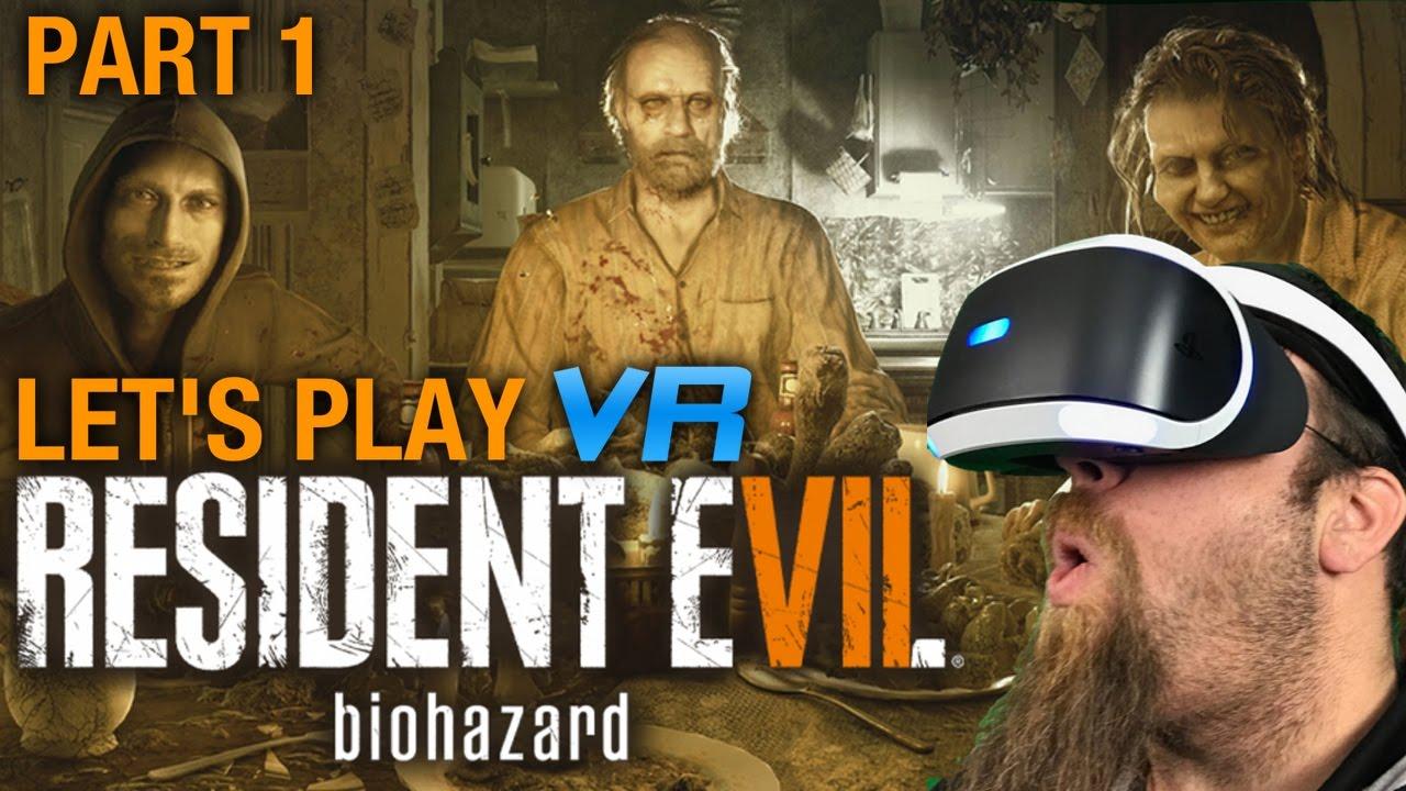 Resident Evil 7 Biohazard Psvr Let S Play Part 1 Hands Off