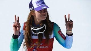 Golden girl Tina Maze quits skiing