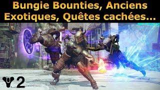 Destiny 2 News : Bungie Bounties, Anciens Exotiques, Quêtes Cachées...