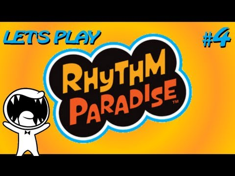Let's Play Rhythm Paradise - Part 4 [And stop! Scu-ra-tcho!]