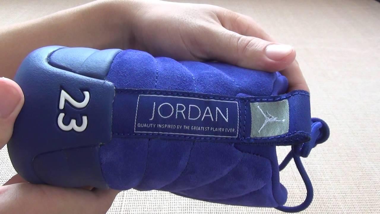 545f9c6e26ed3c Authentic Air Jordan 12 Premium Deep Royal Blue - YouTube