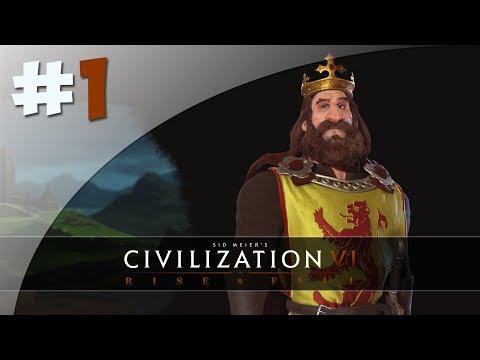 Ecosse - #1 Civilization VI, Rise and Fall