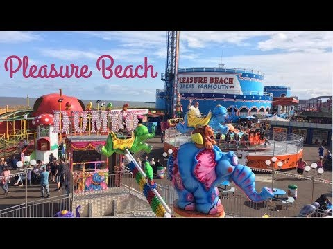 Great Yarmouth Pleasure Beach Vlog August 2017