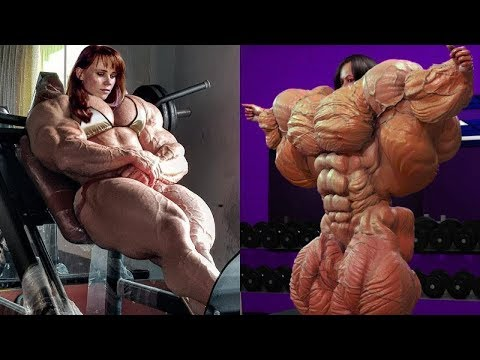 10 FEMALE BODYBUILDERS WHO ARE MORE MUSCULAR THAN ARNOLD SCHWARZENEGGER | Crazy Monkey