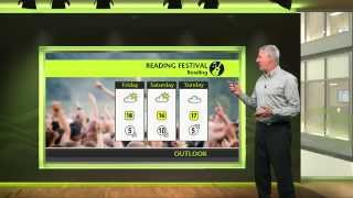 Reading & Leeds Festival - Events weather forecast