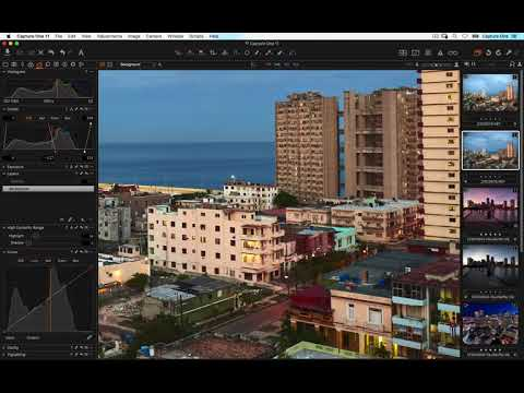 Capture One 11 Webinar | City & Travel RAW Workflow