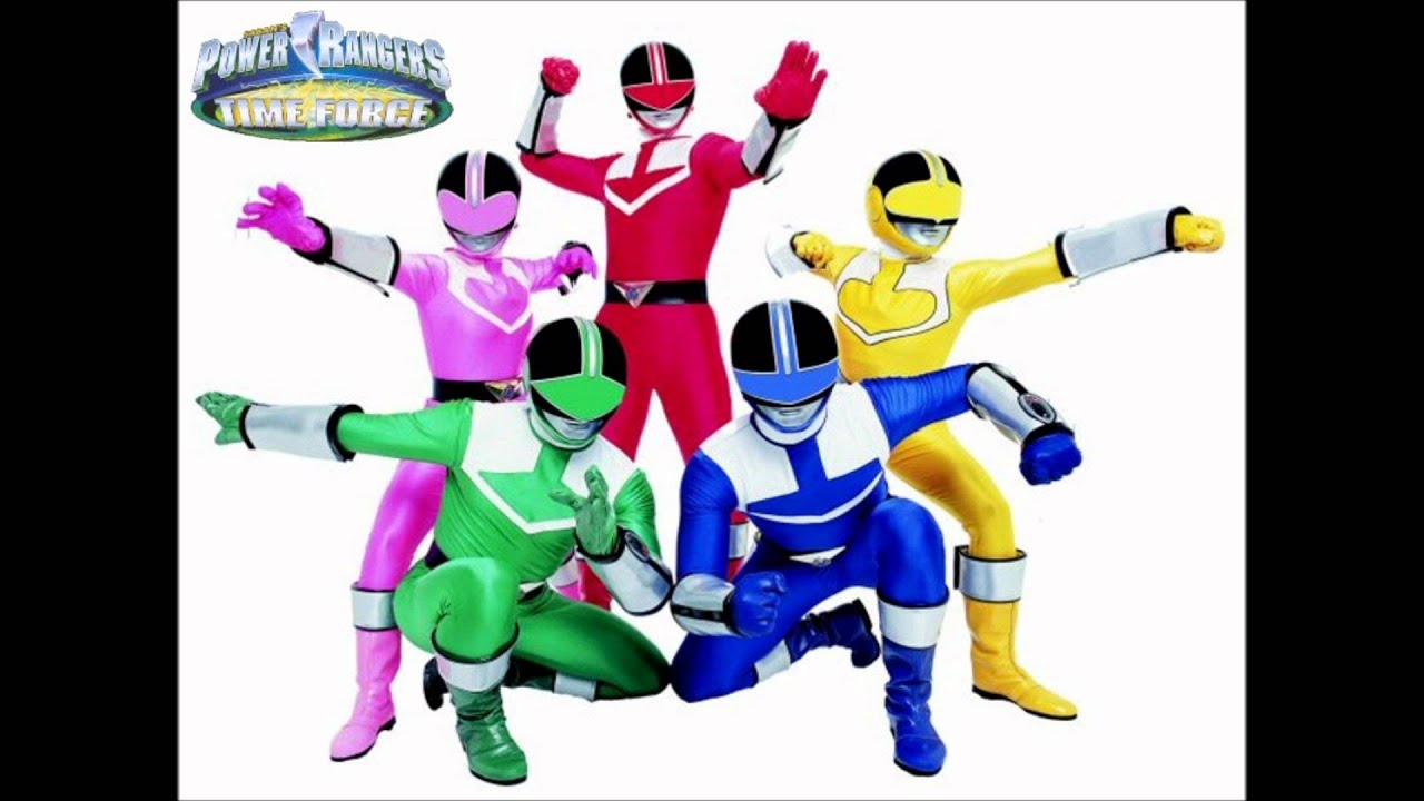 Power Rangers Time Force Theme Song