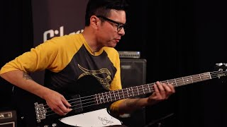 Fred Sablan Demos The New Gibson Thunderbird Bass