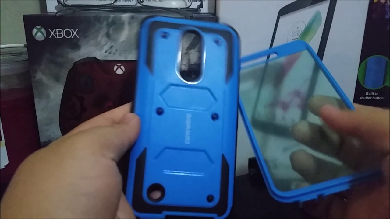 sneakers for cheap f5c7c 1a4b8 MetroPCS LG Aristo Heavy Duty Full-Body Rugged Holster Armor Case Unboxing