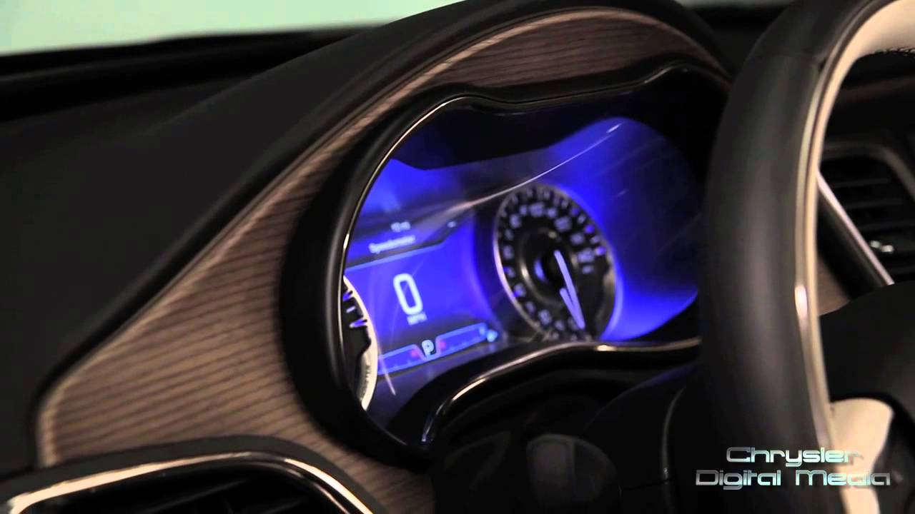 2015 Chrysler 200 Interior Design Feature | AutoMotoTV   YouTube