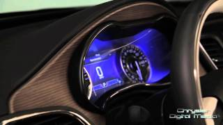 2015 Chrysler 200 Interior Design Feature | AutoMotoTV