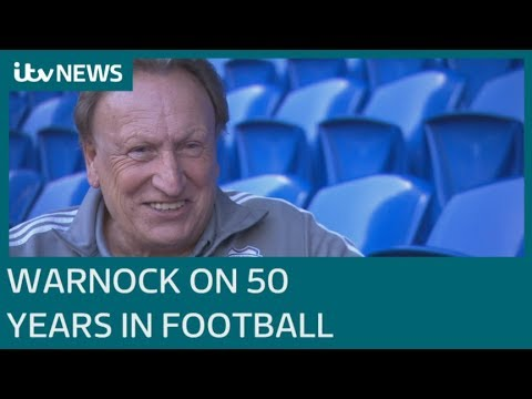 Cardiff City Boss Neil Warnock On 50 Years In Football | ITV News