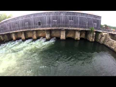Savannah River Rapids Pavilion Augusta Ga Aerial Videography