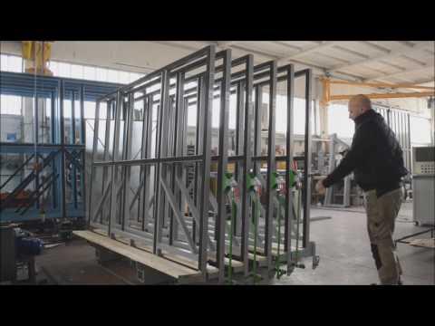 SCHIAVO - Manual glass storage system CLO3300B