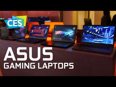 New GeForce-powered ROG gaming laptops! - CES 2017