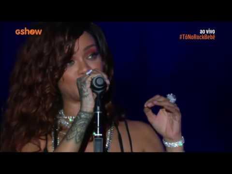 Rihanna  Love The Way You Lie , Take A Bow e Cold Case Love , Rock in Rio 2015