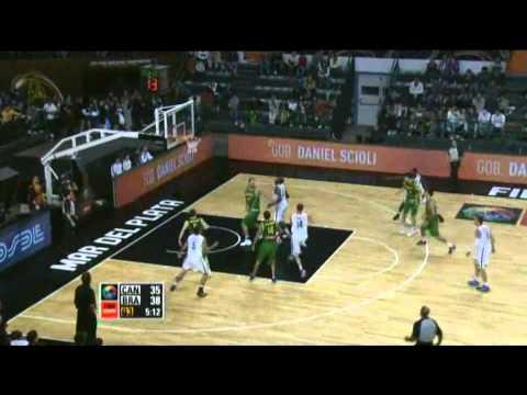 Brazil Vs. Canada  / 2011 FIBA Americas Championship Round 1